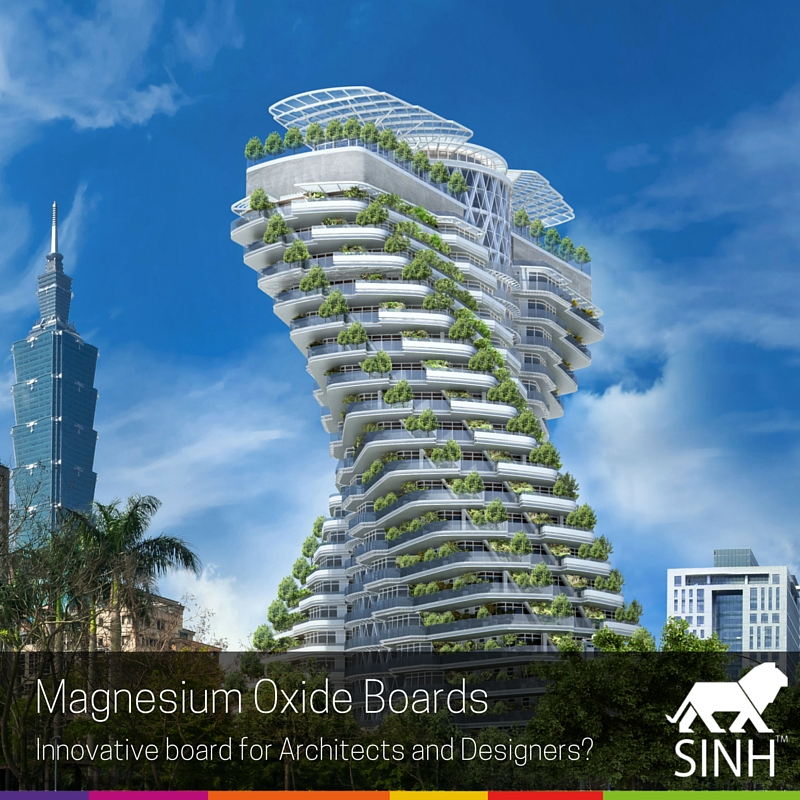 Magnesium Oxide Boards: Innovative solution for Architects and Designers?