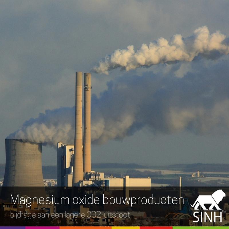 Magnesium Oxide bouwproducten: bijdrage aan een lagere CO2-uitstoot!