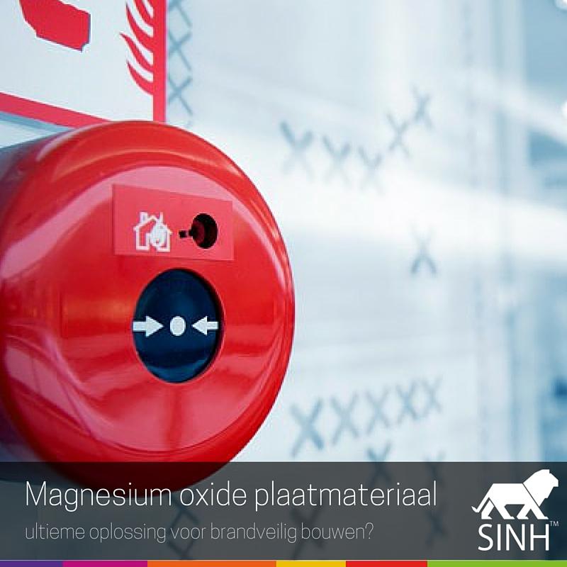 Magnesiumoxide plaatmateriaal: ultieme oplossing voor brandveilig bouwen?