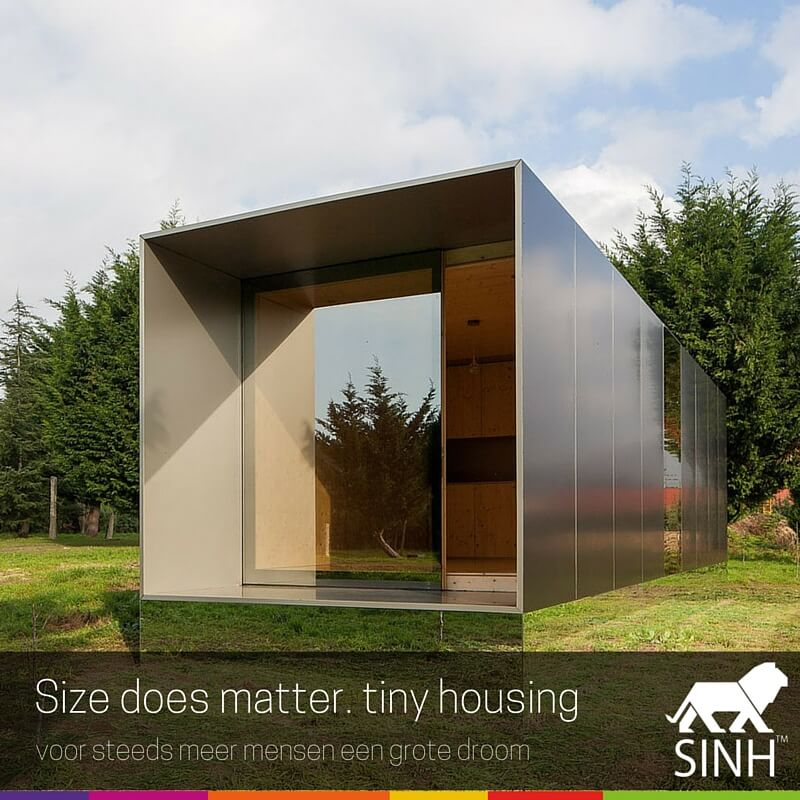 Size does matter: Tiny Housing, voor steeds meer mensen een grote droom.