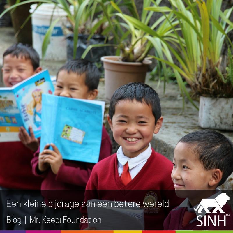 Een kleine bijdrage aan een betere wereld
