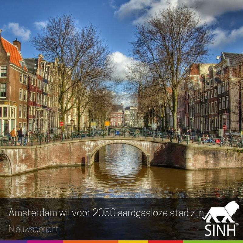 Amsterdam wil voor 2050 aardgasloze stad zijn