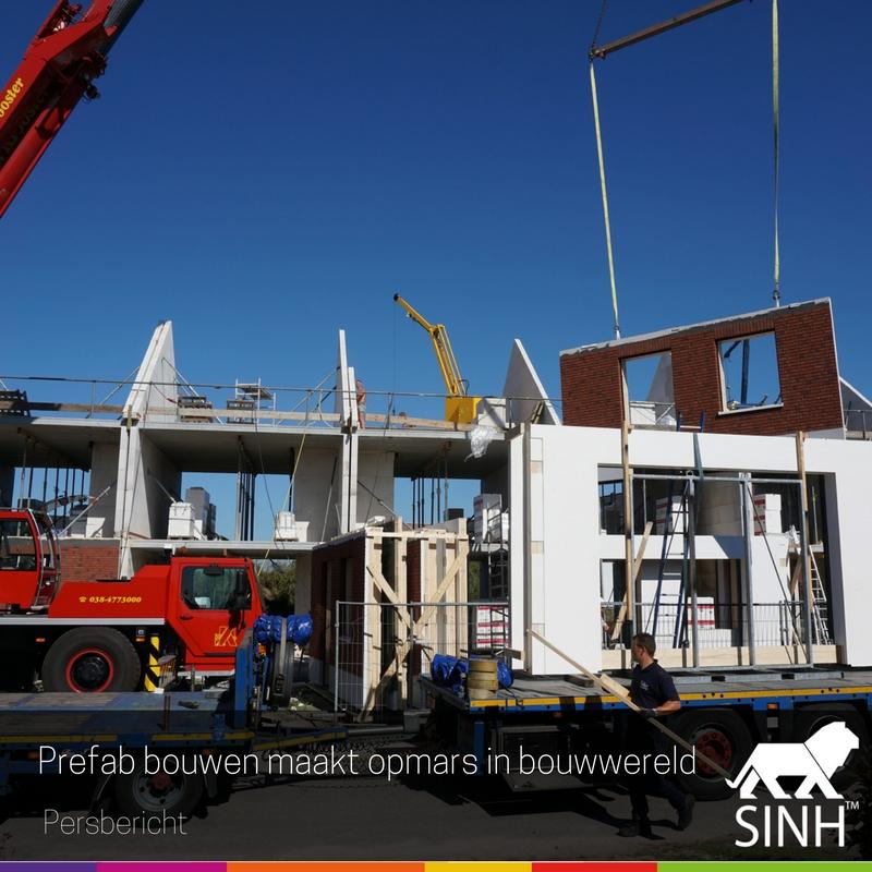 Prefab bouwen maakt opmars in bouwwereld