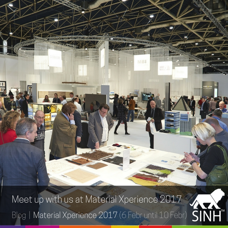 Meet up with us at Material Xperience 2017