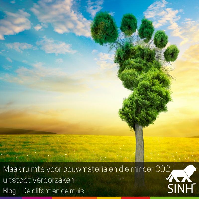 Maak ruimte voor bouw-materialen die minder CO2-uitstoot veroorzaken