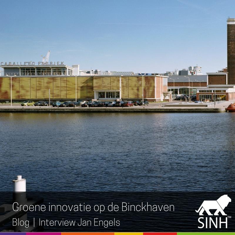 Groene innovatie op de Binckhaven