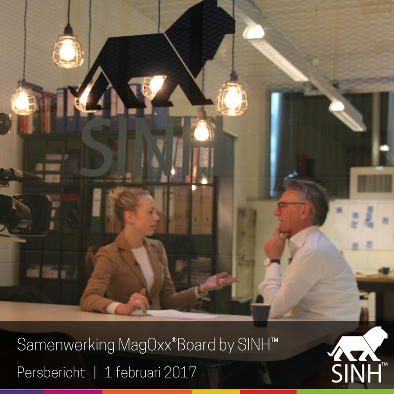 Persbericht: samenwerking MagOxx®Board by SINH™